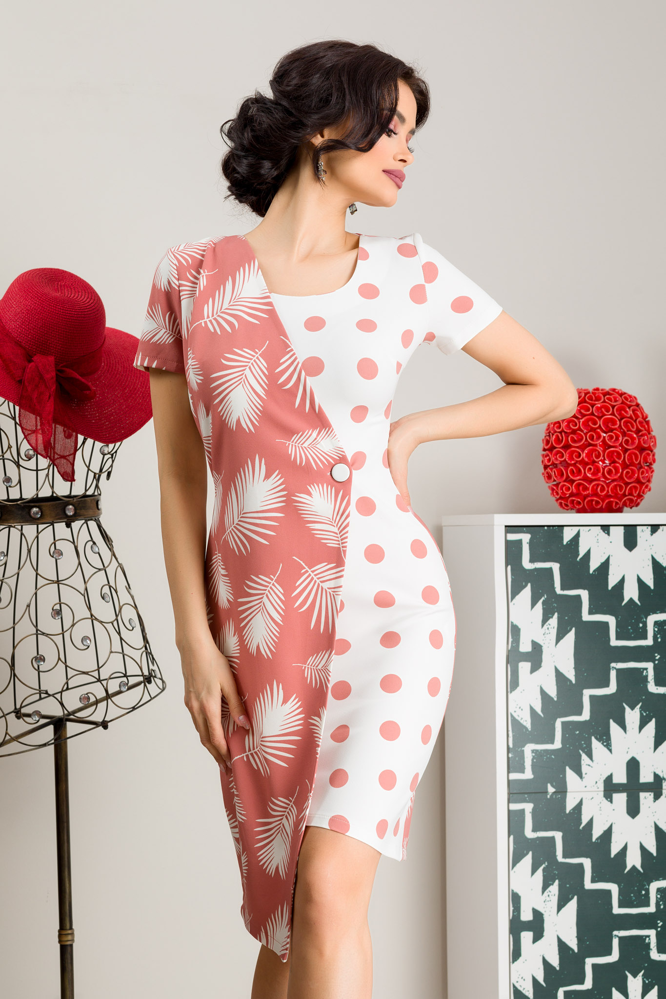 Rochie Rosaly Rose