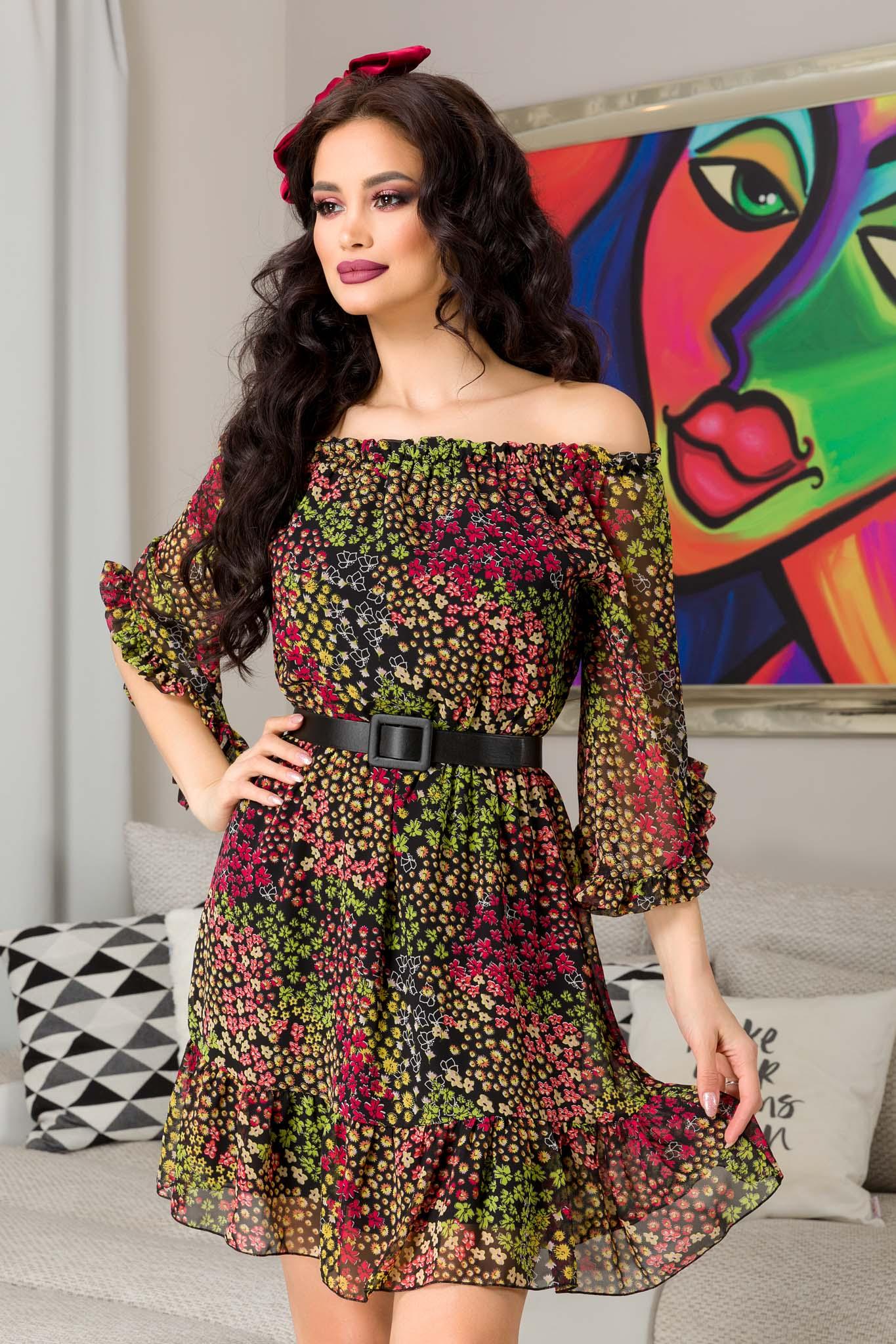 Rochie Lorena Multi Floral