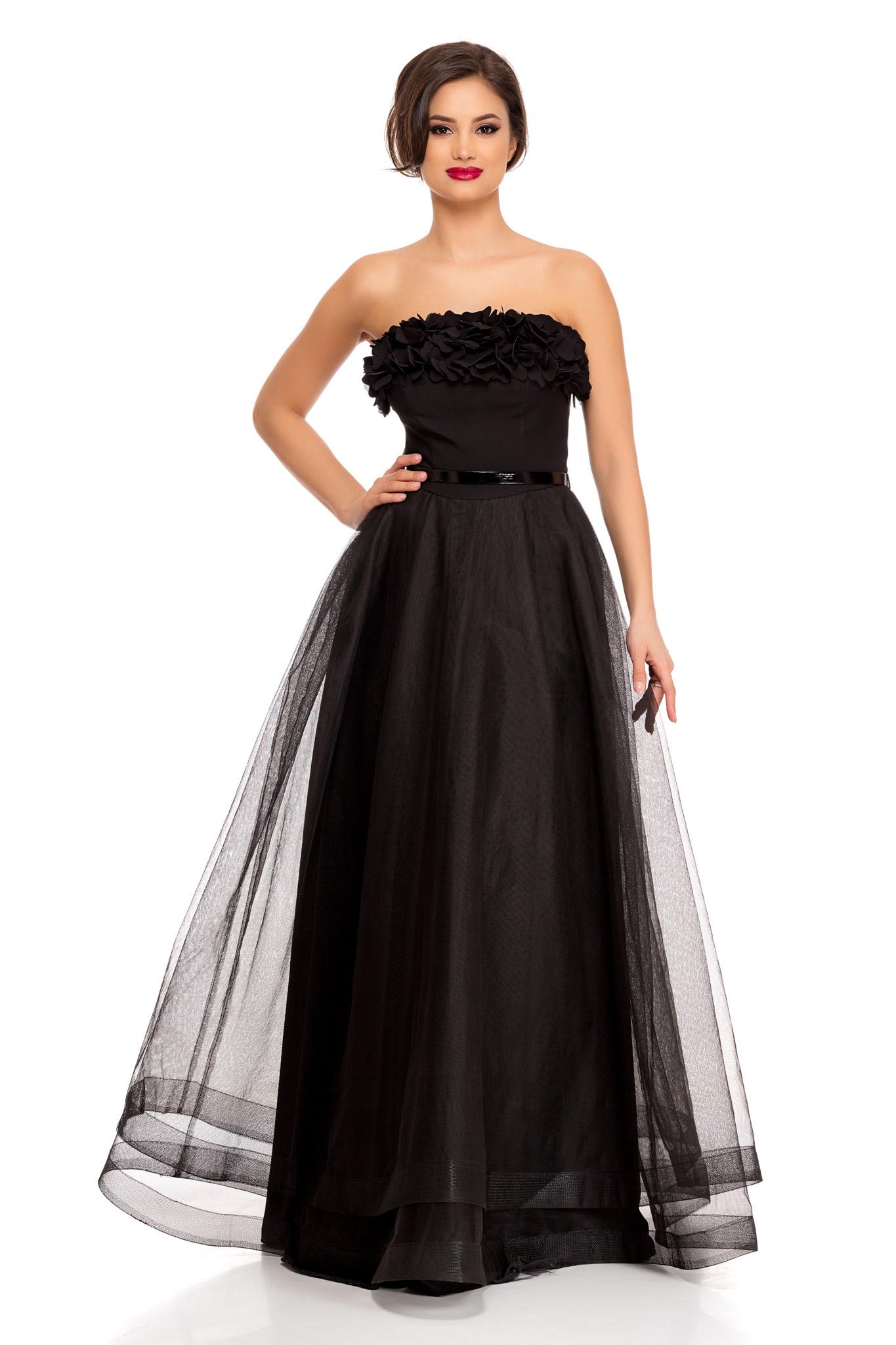 rochie charm neagra