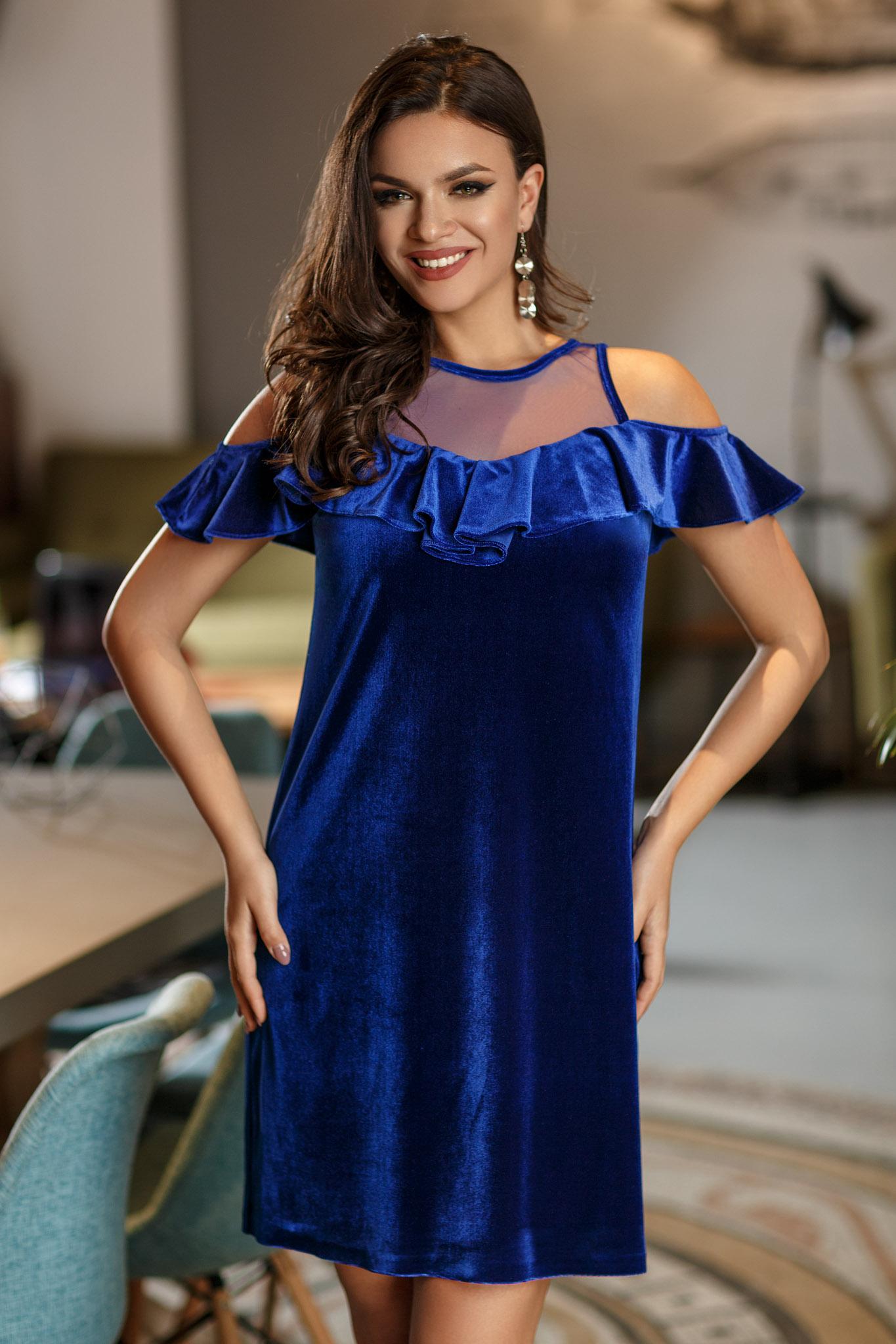 rochie nikita albastra