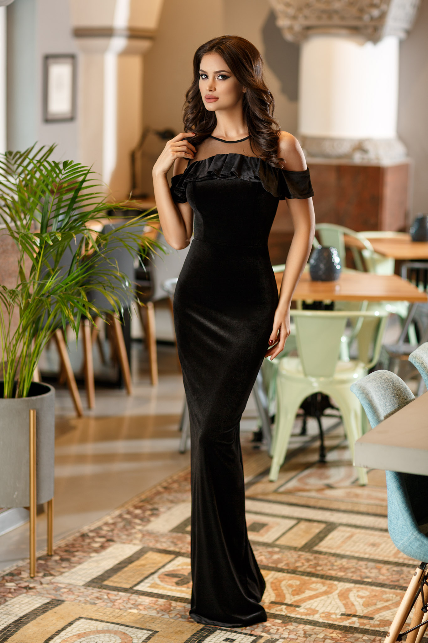 Rochie Serenity Neagra