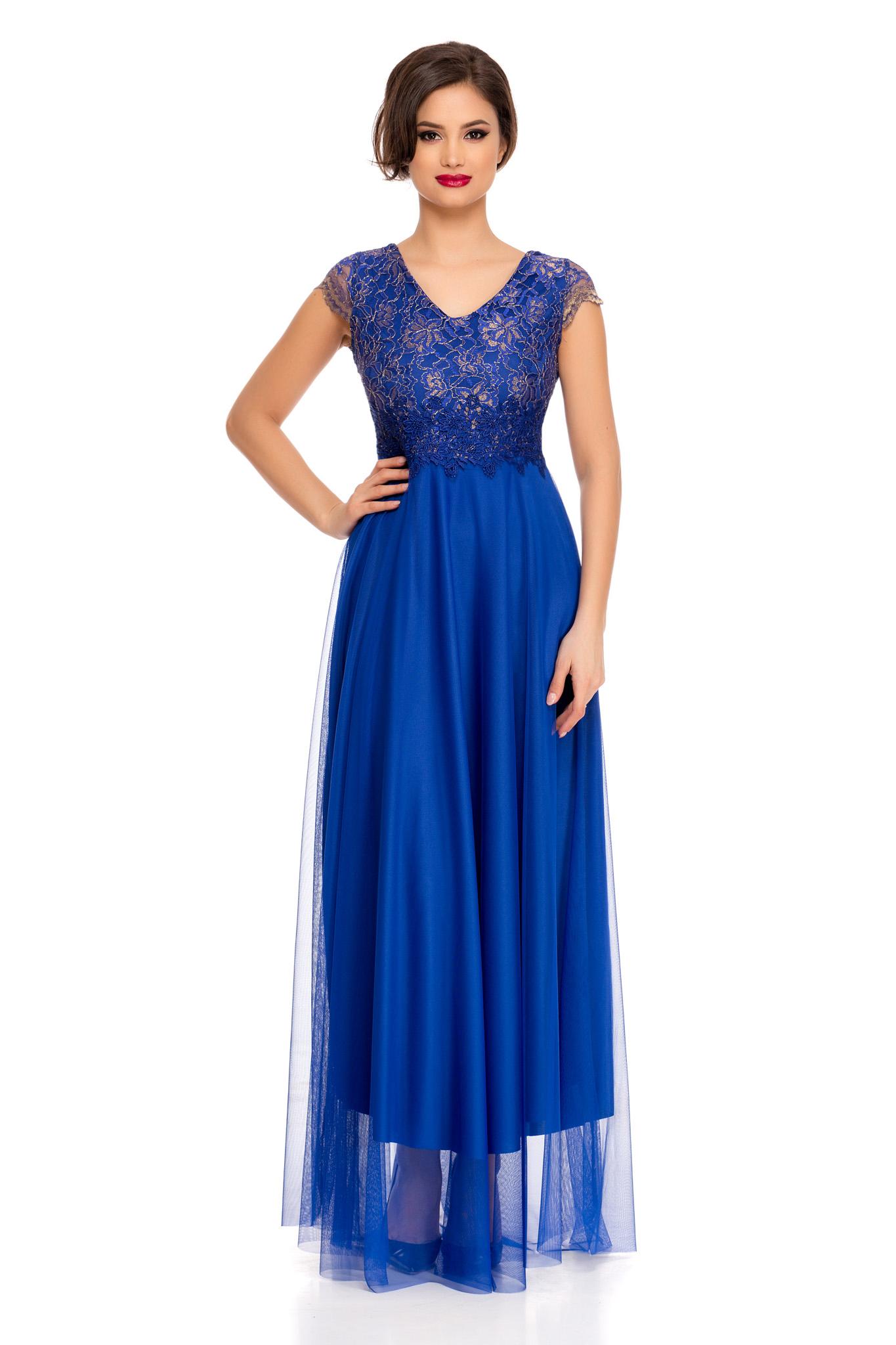 rochie aurora albastra