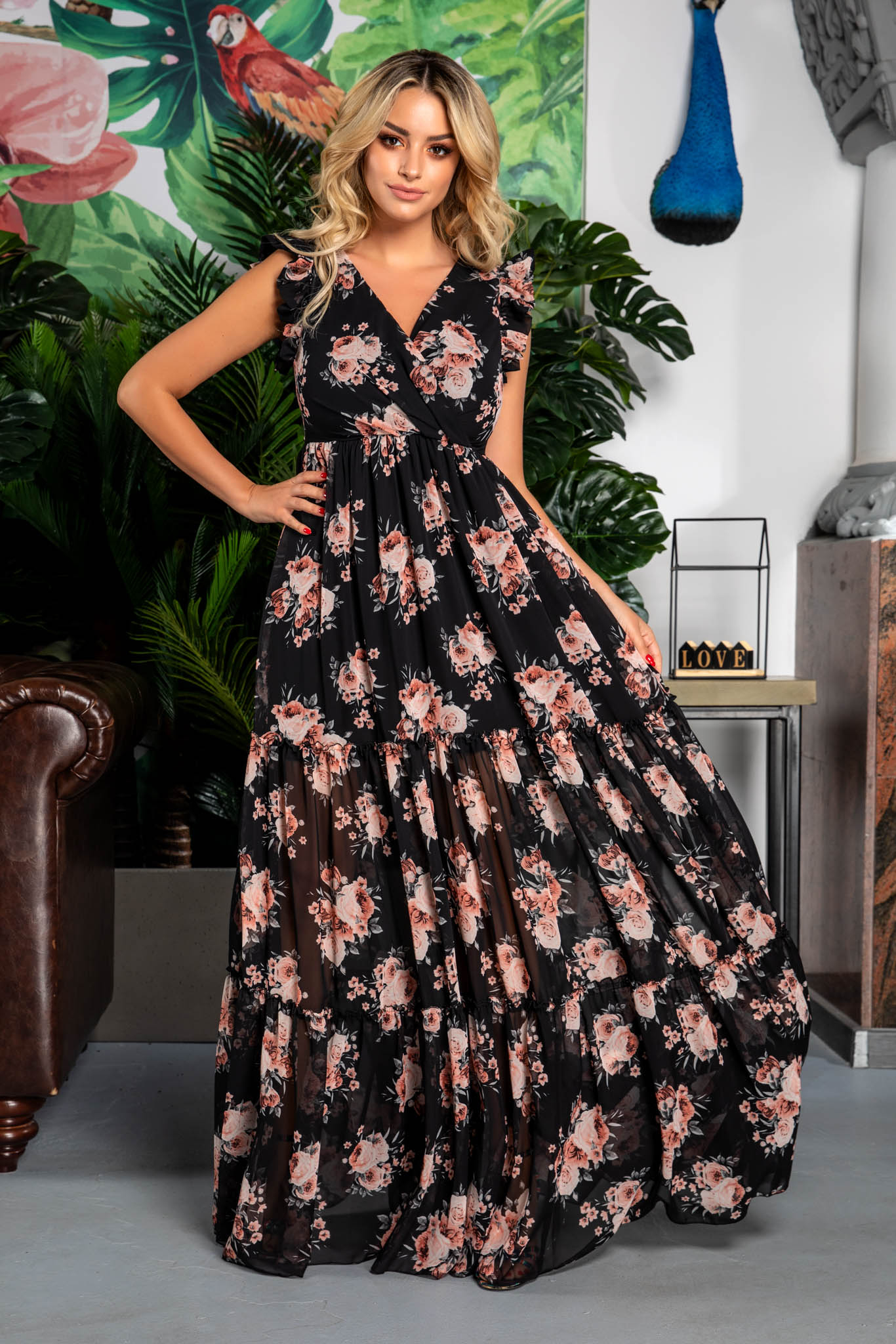 Rochie Evelyn Floral