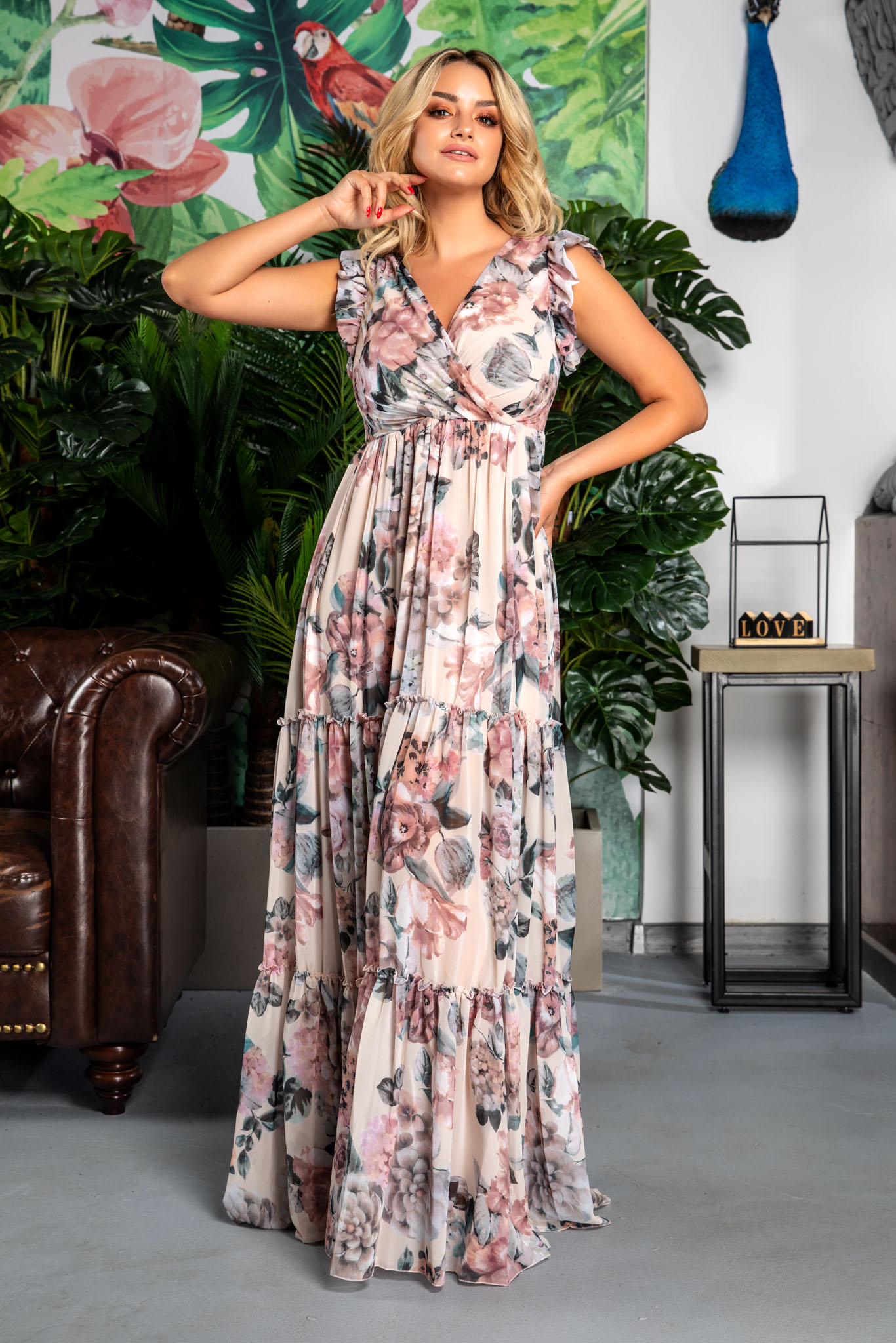 Rochie Evelyn Rose Floral
