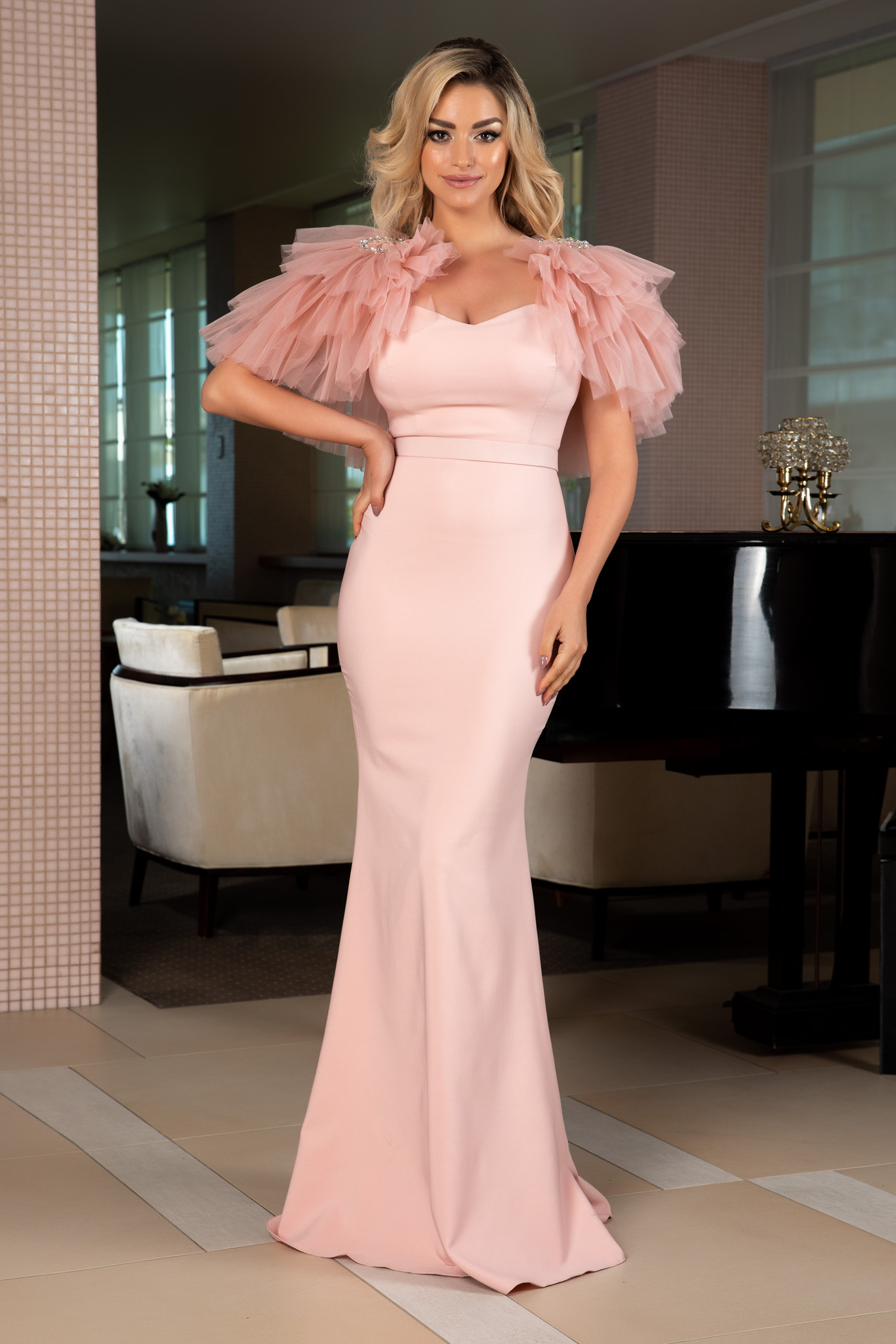Rochie Miracle Rose