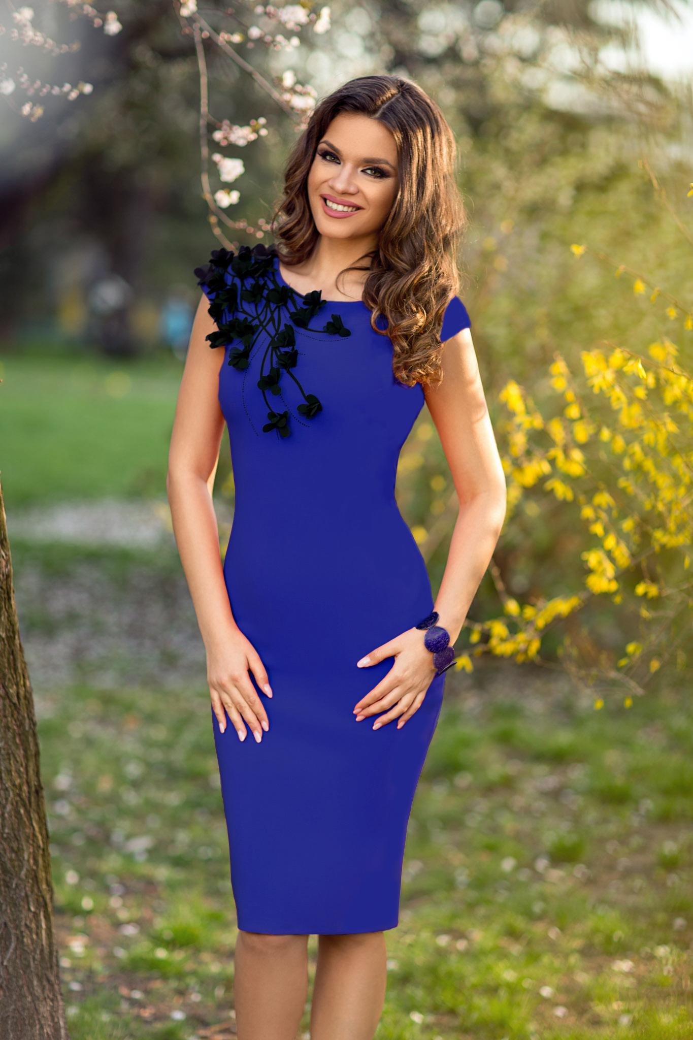 rochie sophie albastra