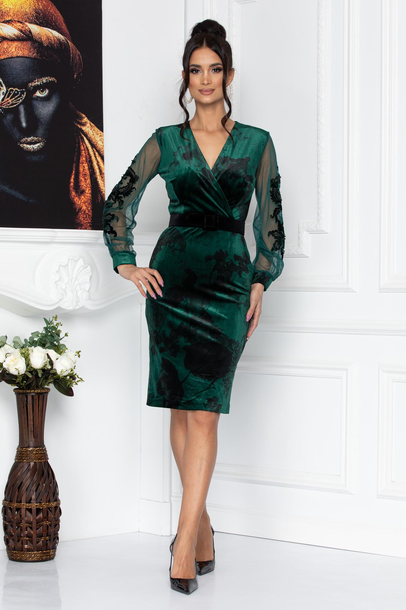 Rochie Fleur Verde