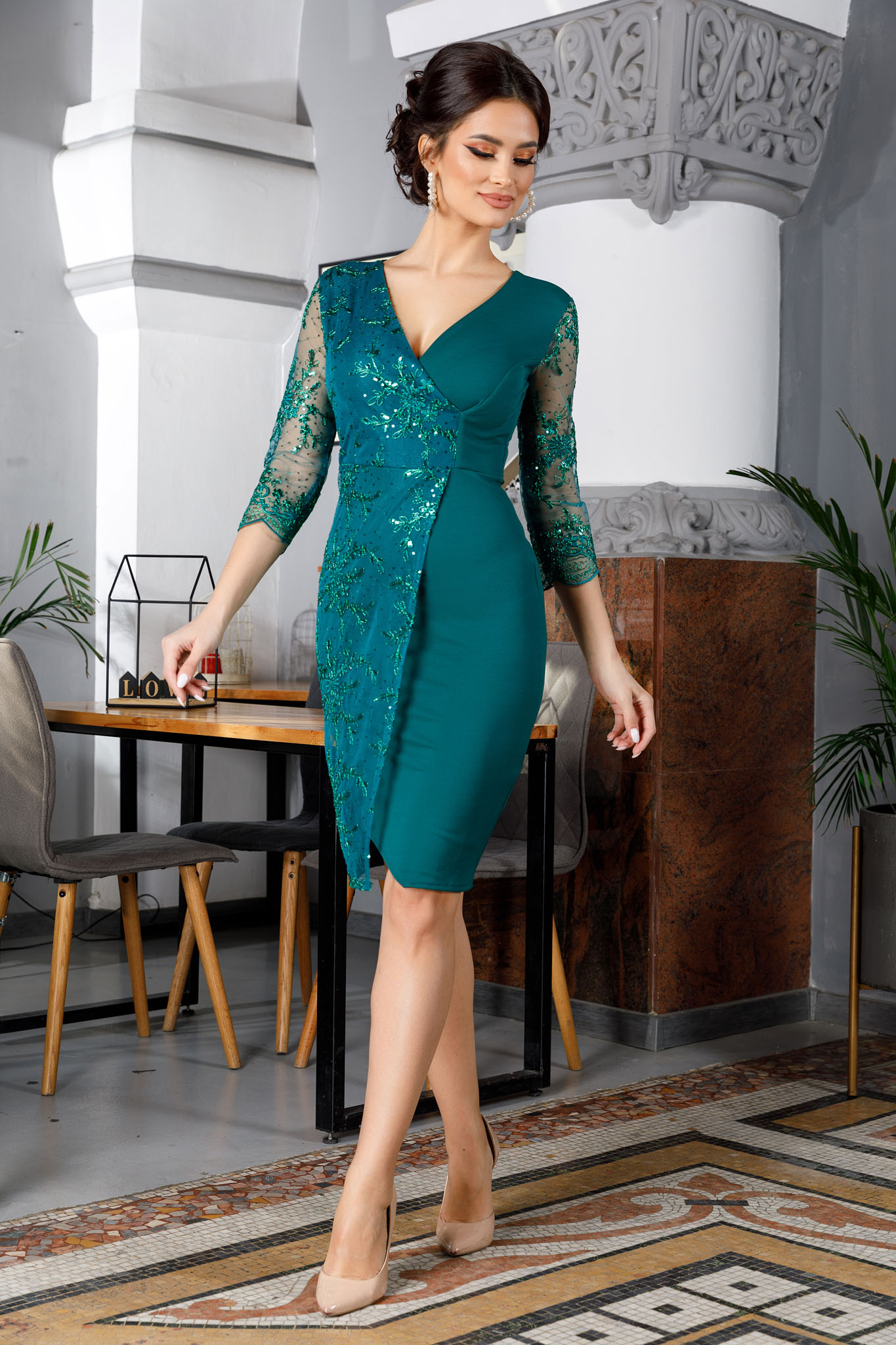 Rochie Verona Verde