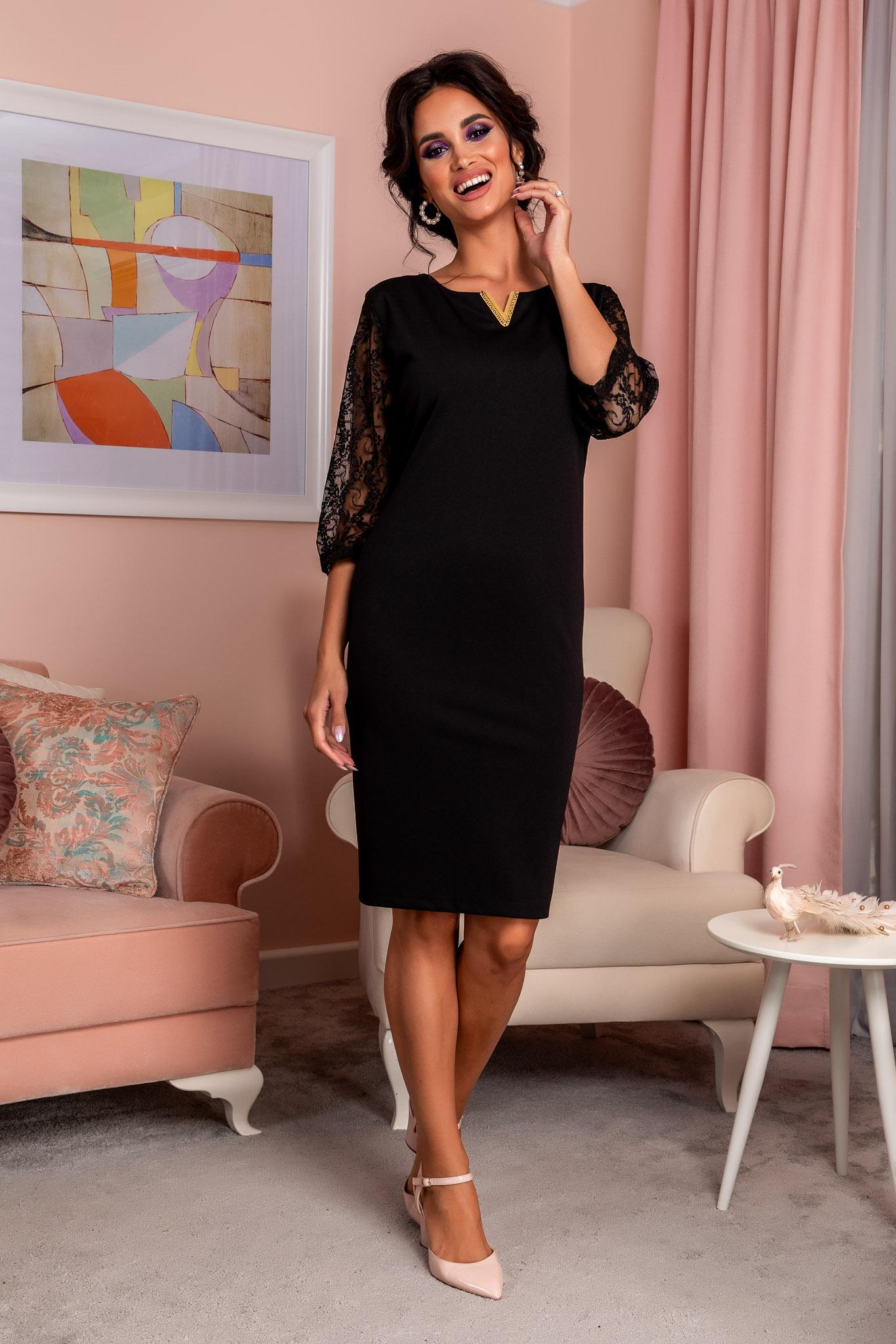Rochie Trysha Neagra