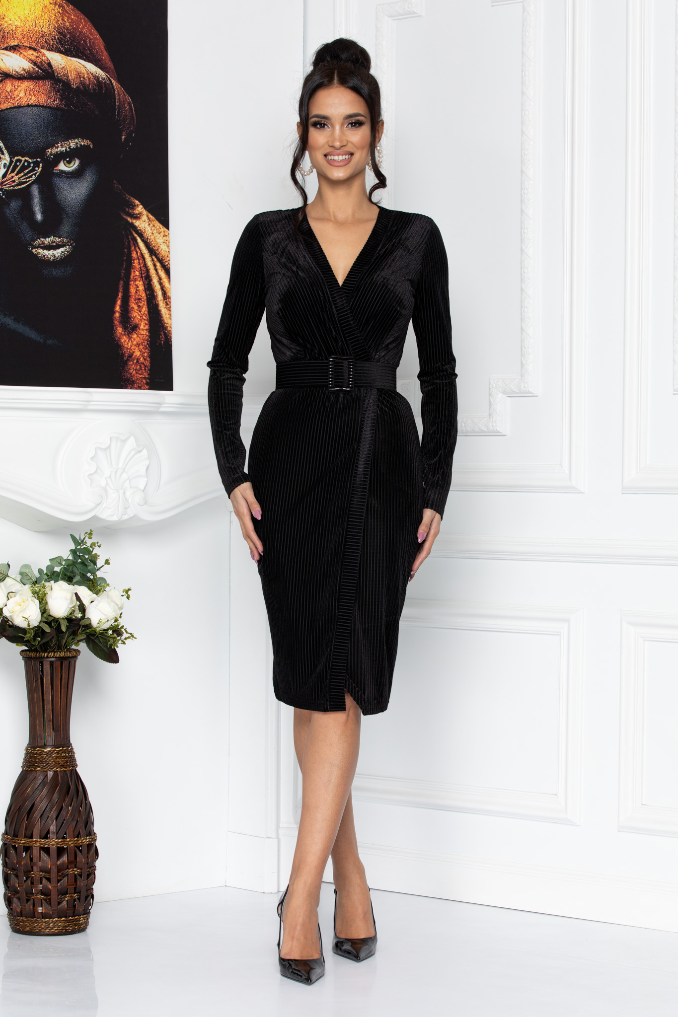 Rochie Elegance Neagra