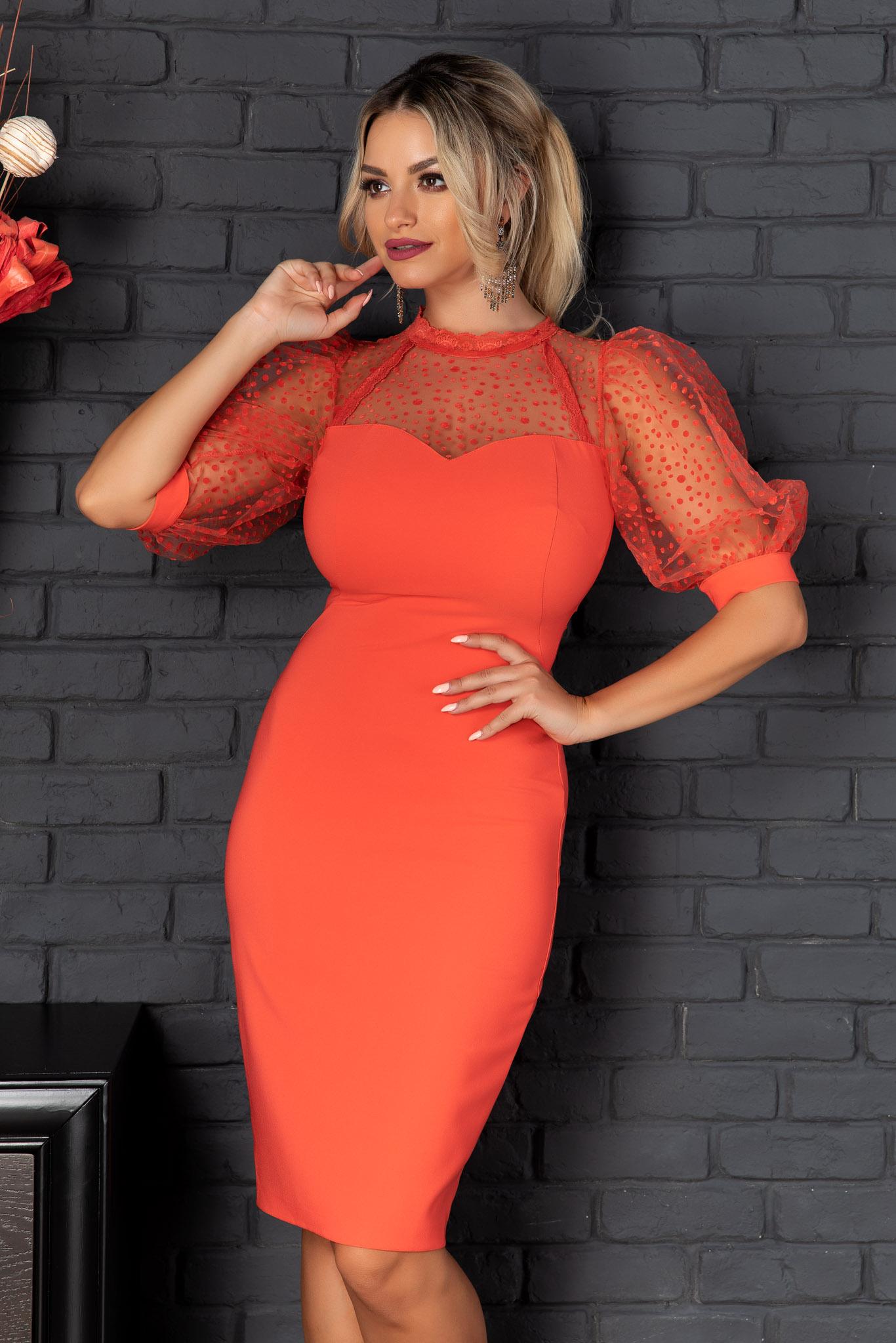 Rochie Gwenith Orange