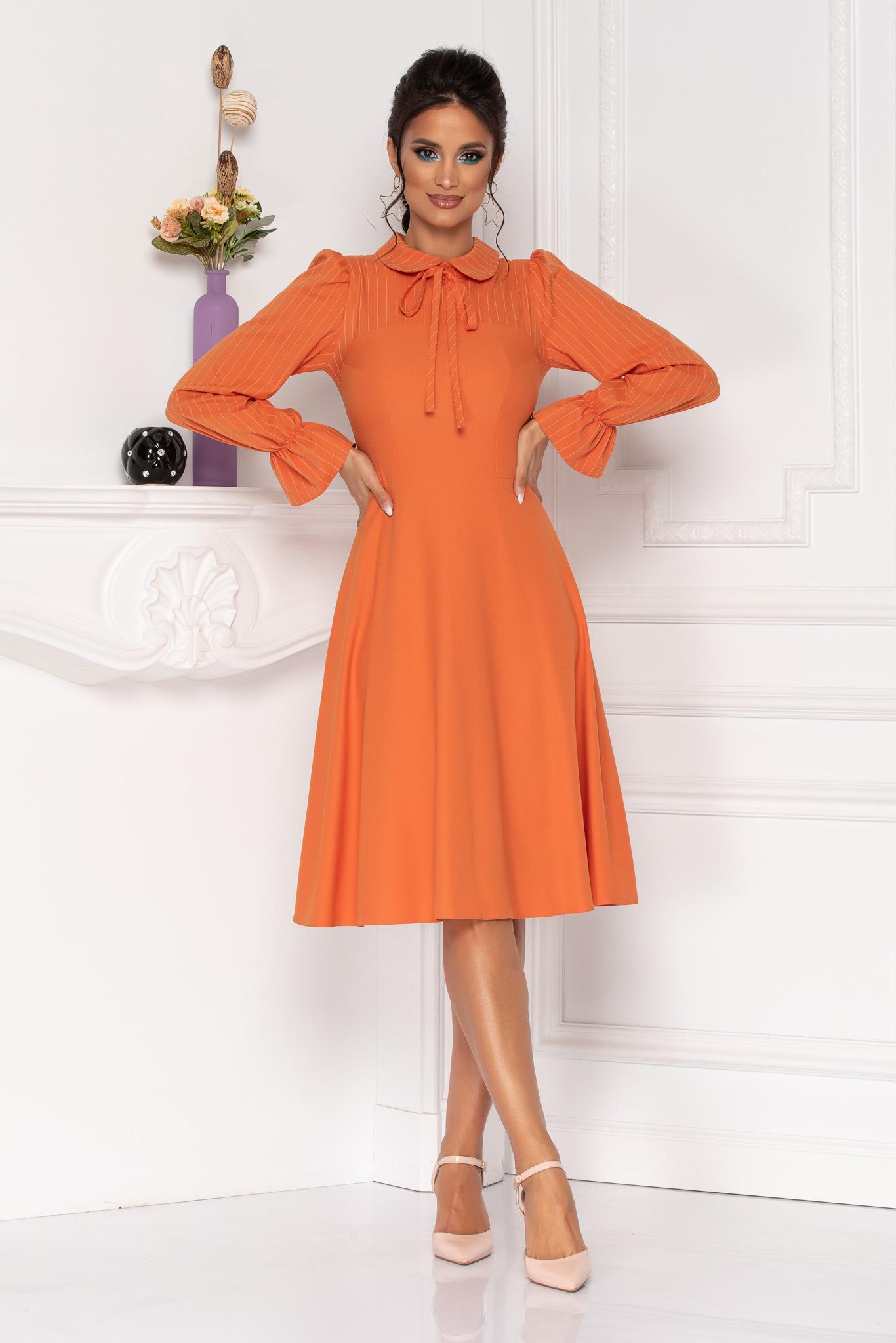 Rochie Moze Helga Orange
