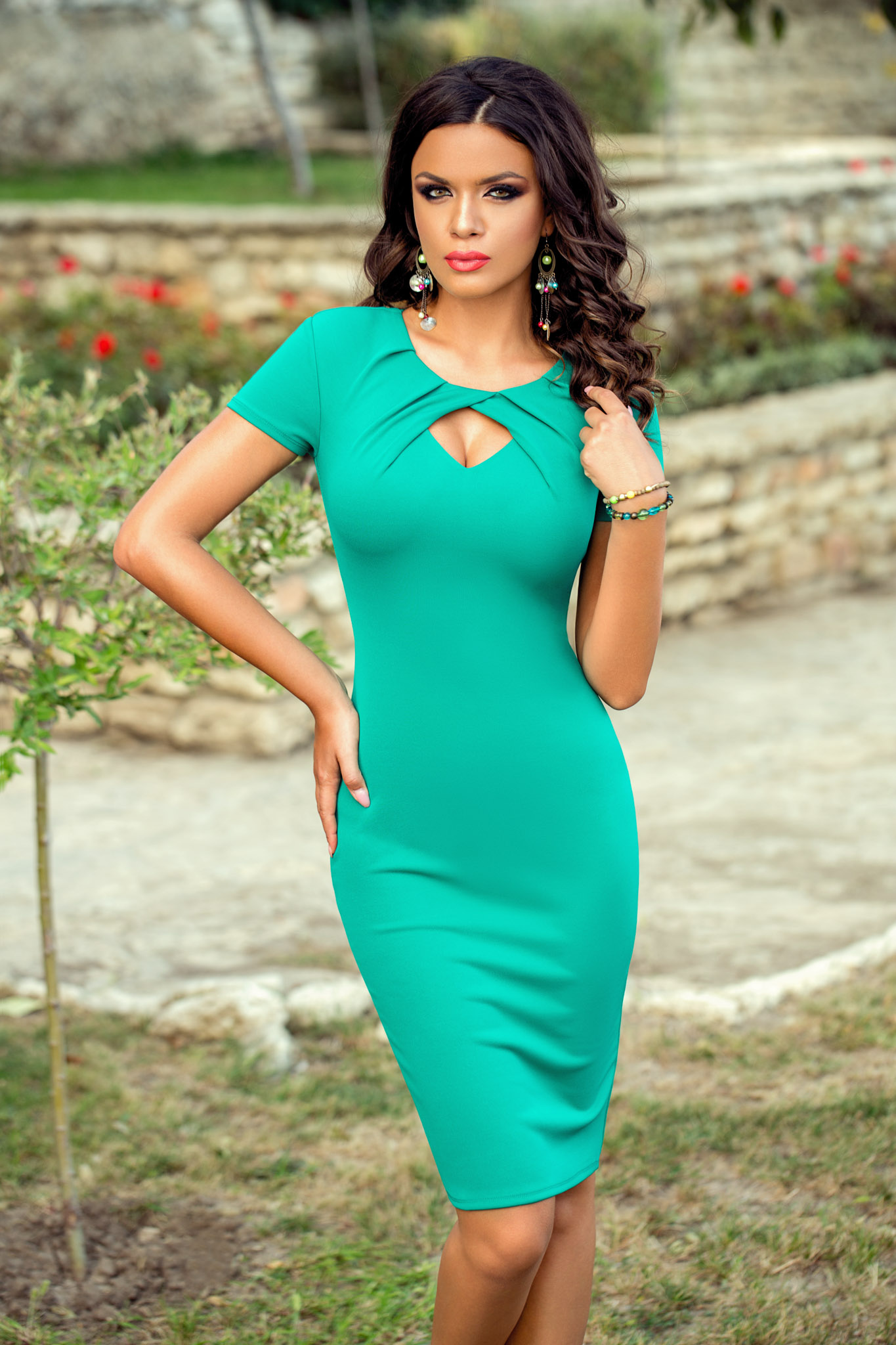 Rochie Relya Verde