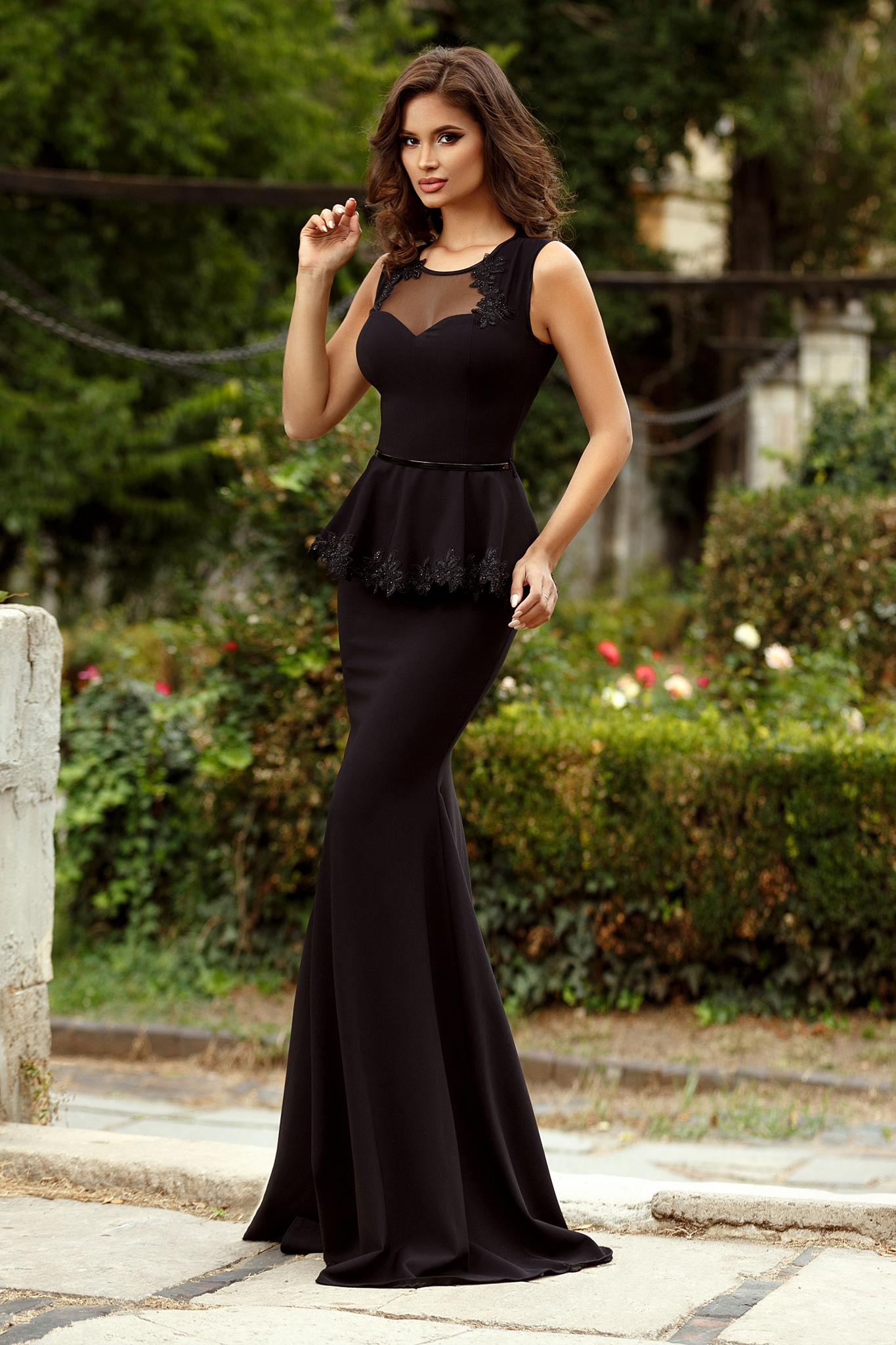 rochie delight neagra
