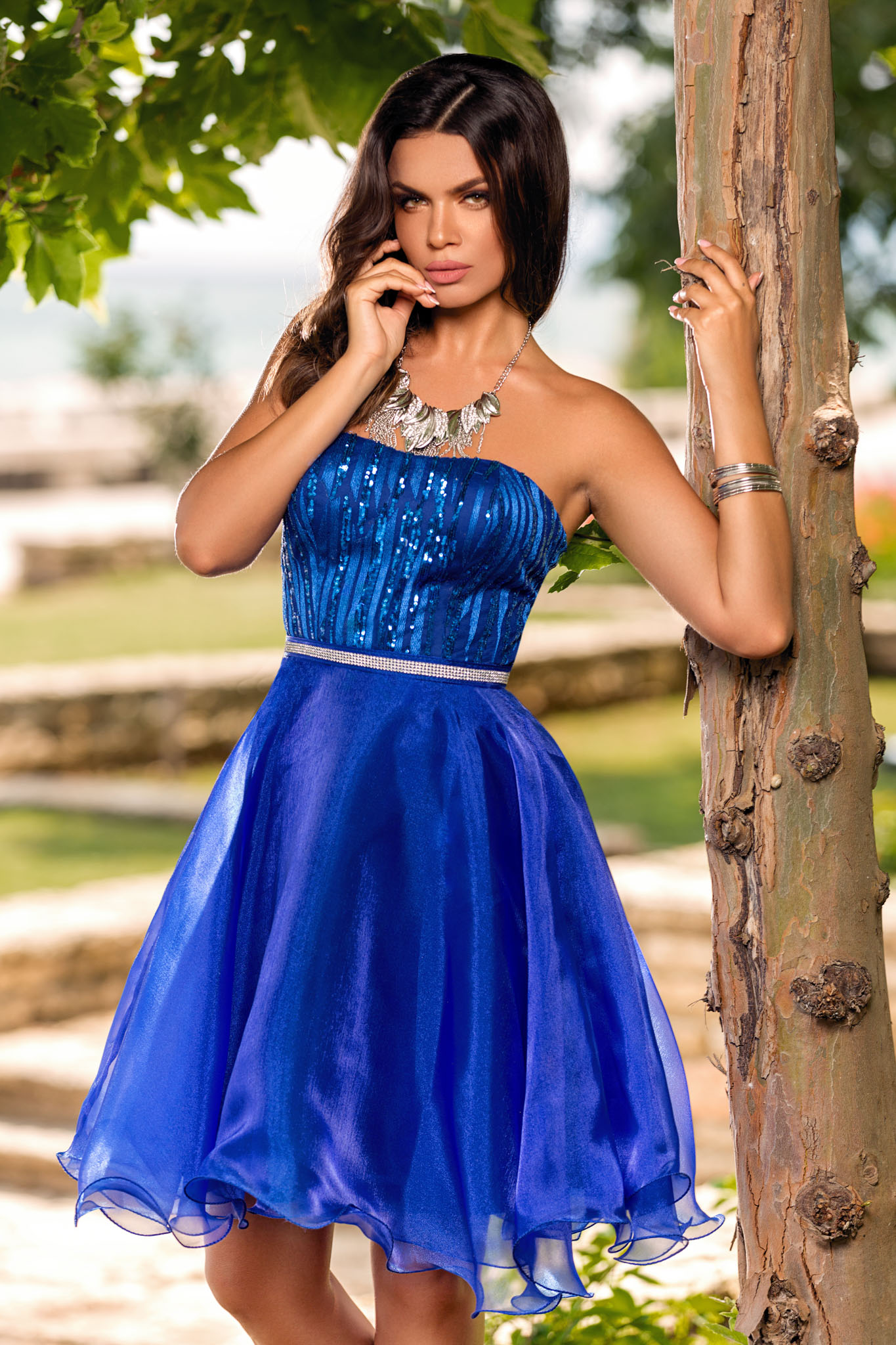 Rochie Lovely Albastra