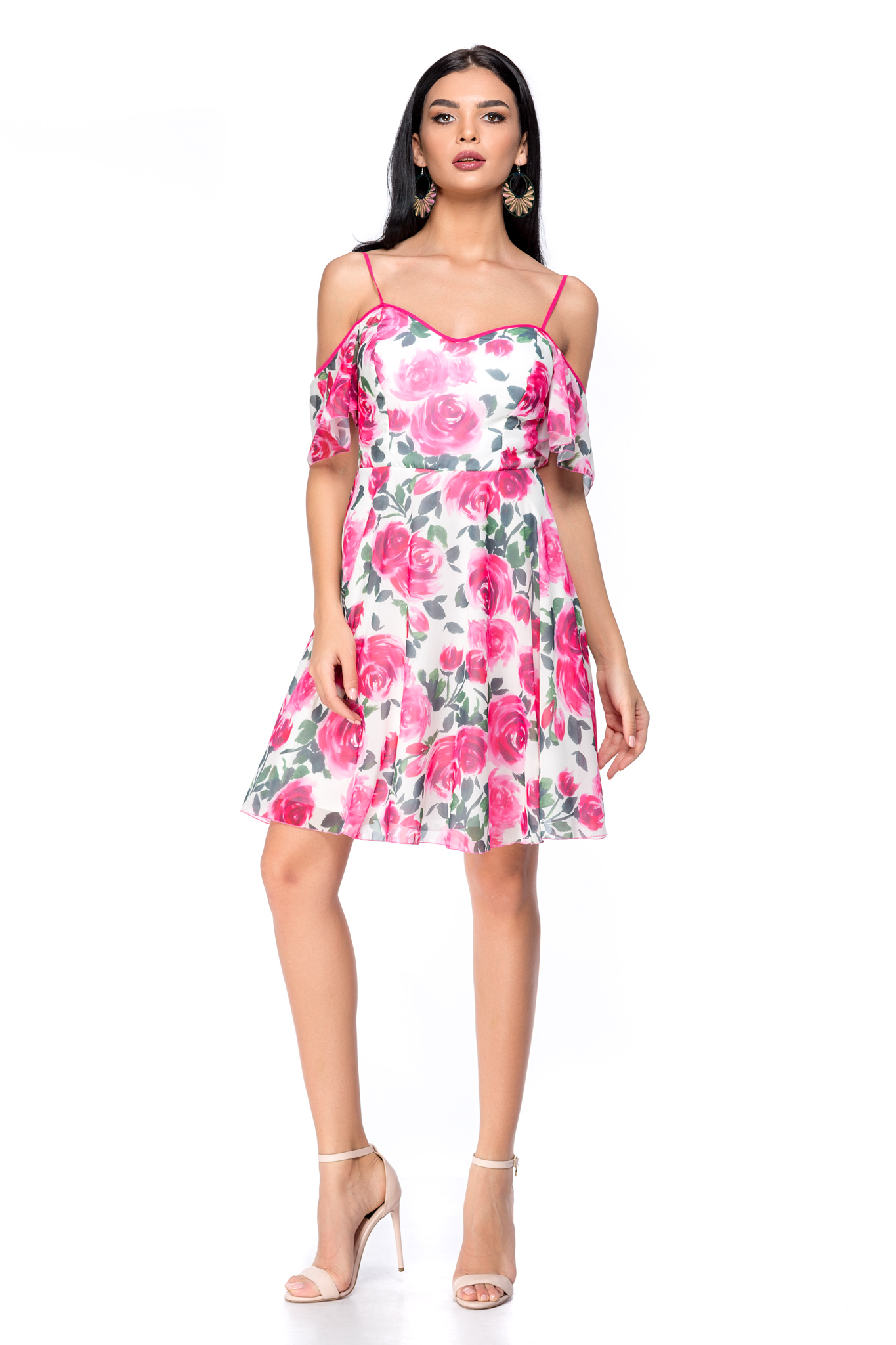 Rochie Holiday Ciclam zonia.ro