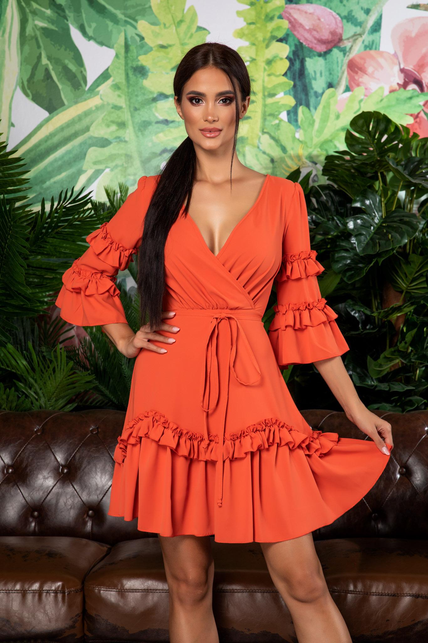 Rochie Eda Orange