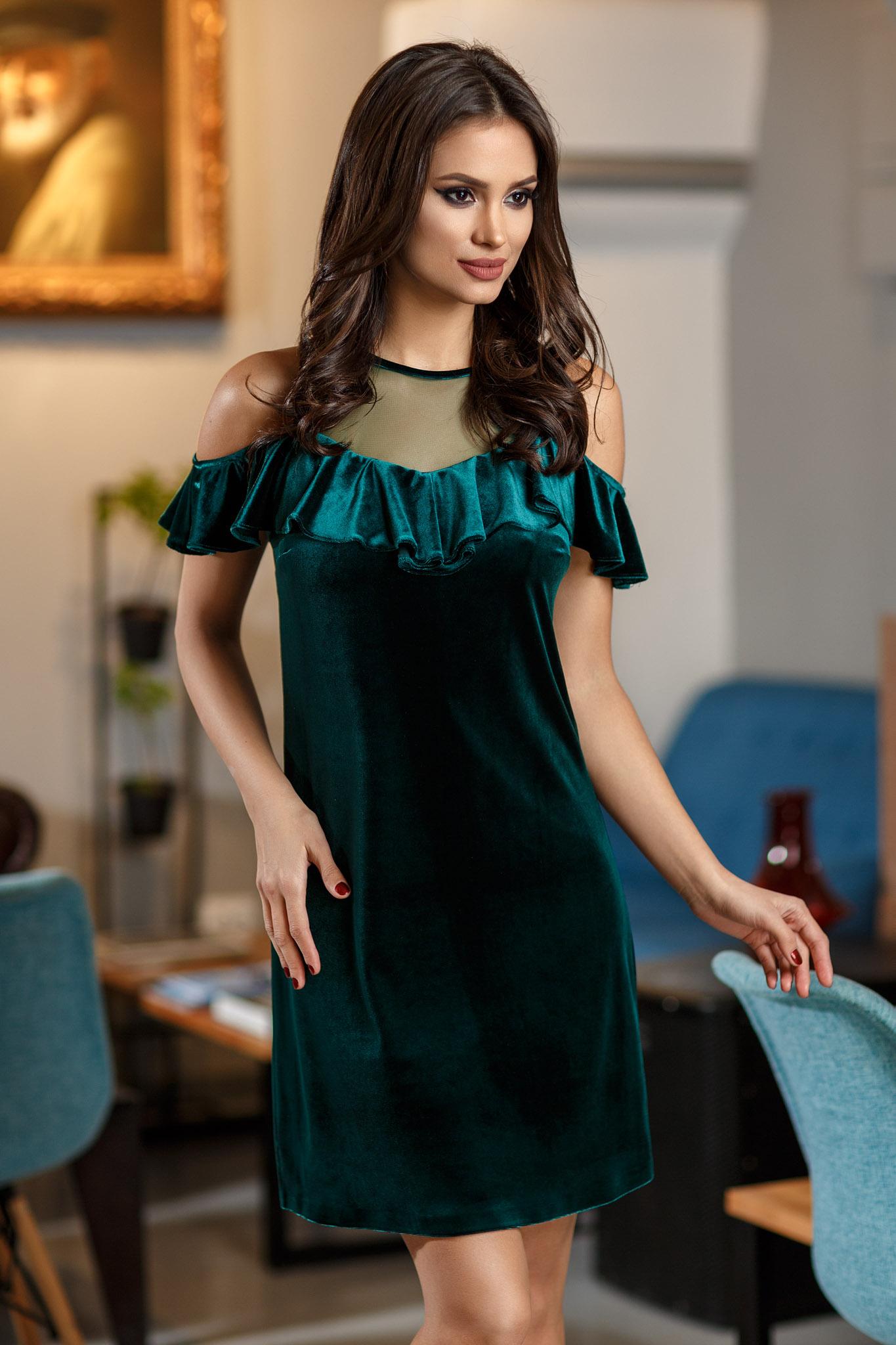 rochie nikita verde