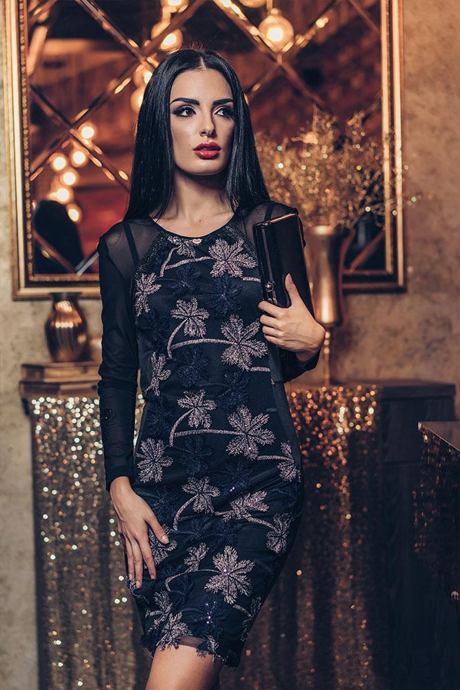 Rochie Khrista Neagra