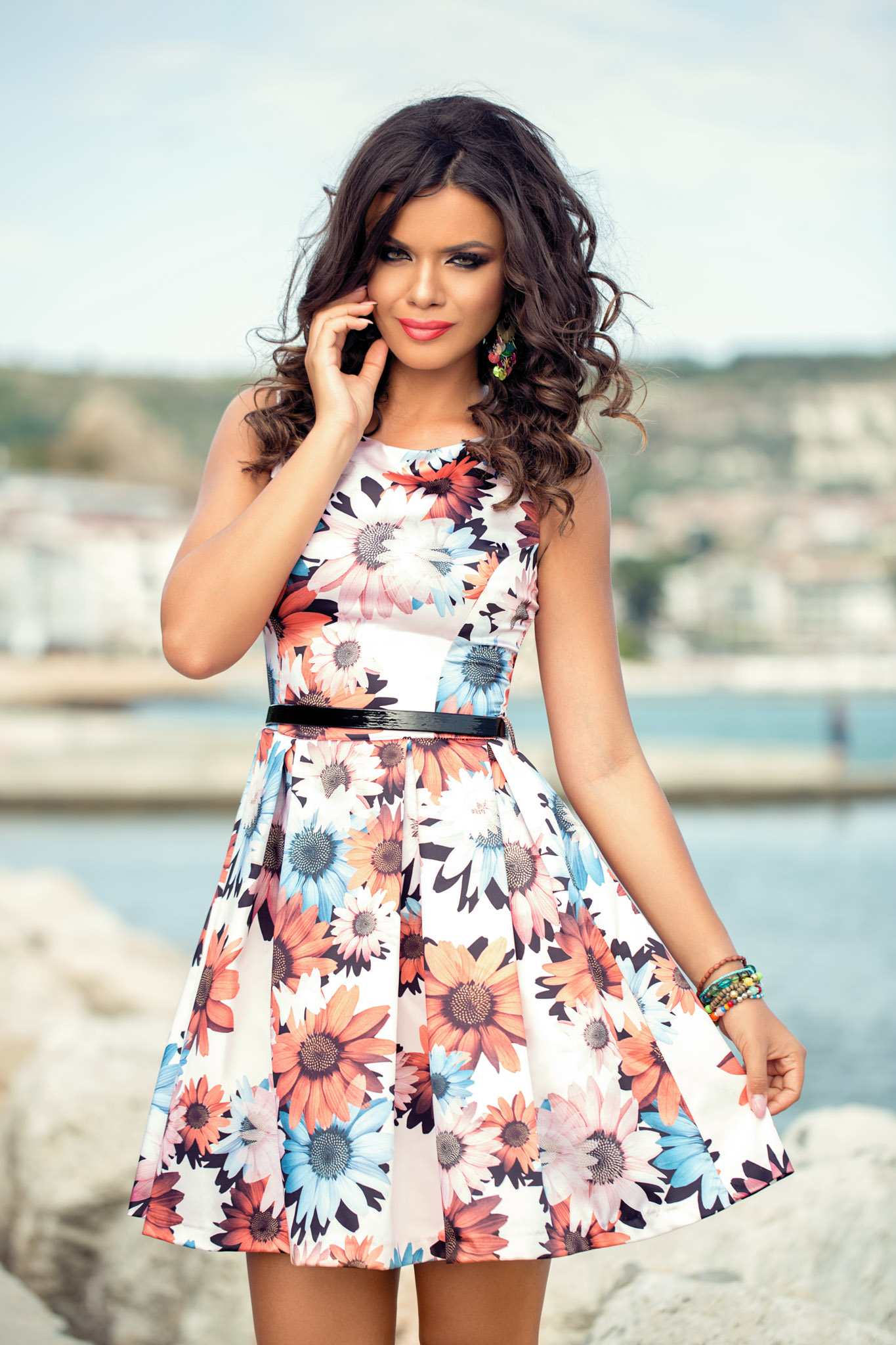 Rochie Yzza Floral