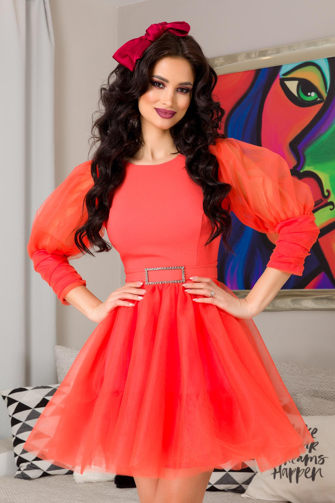 Rochie Athena Orange
