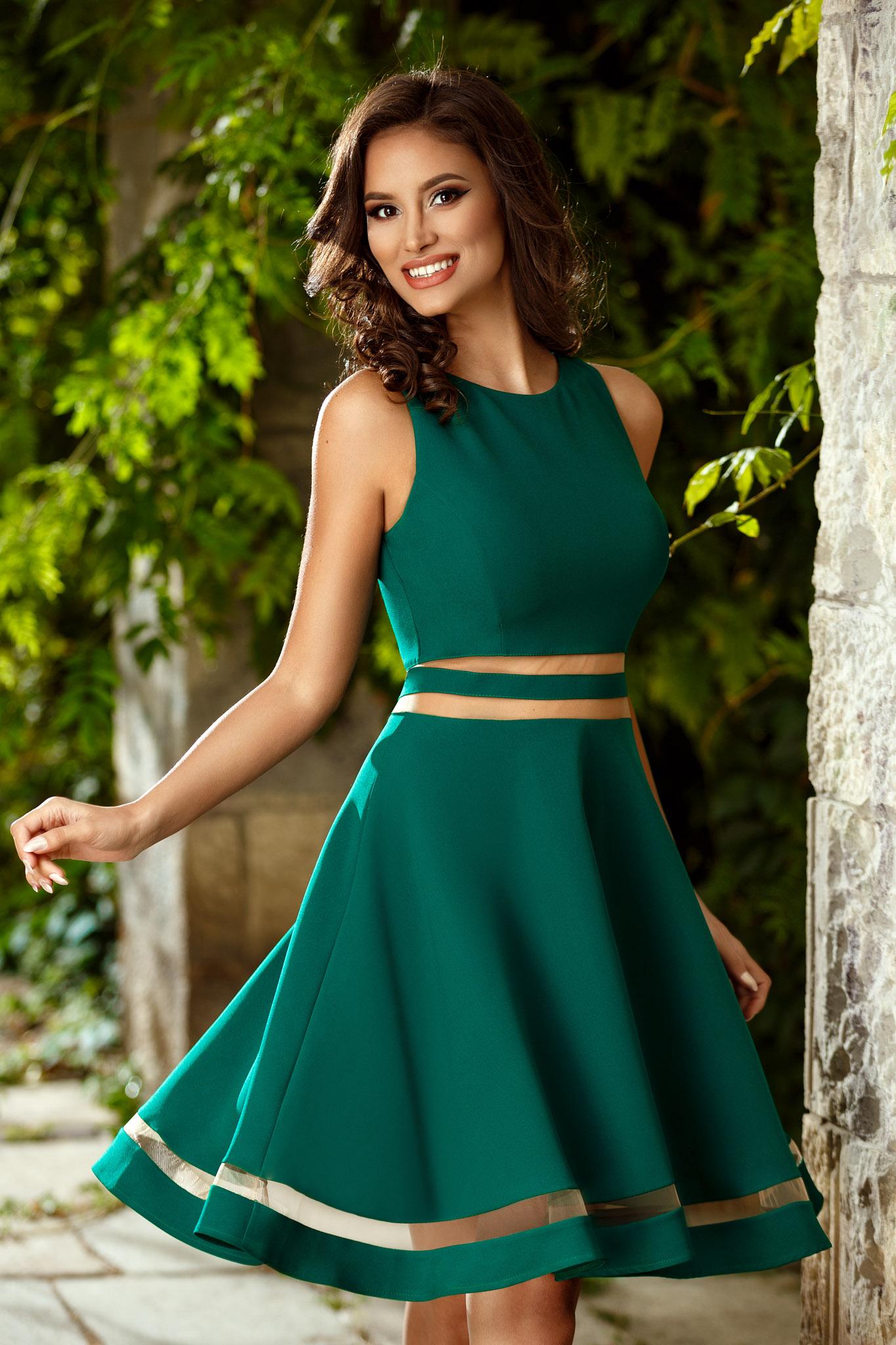 rochie felice verde