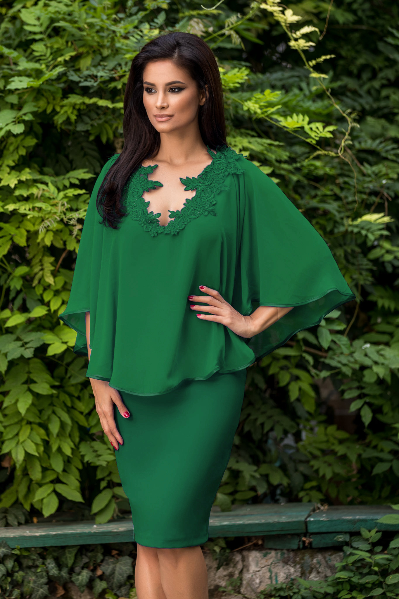 Rochie Calliope Verde