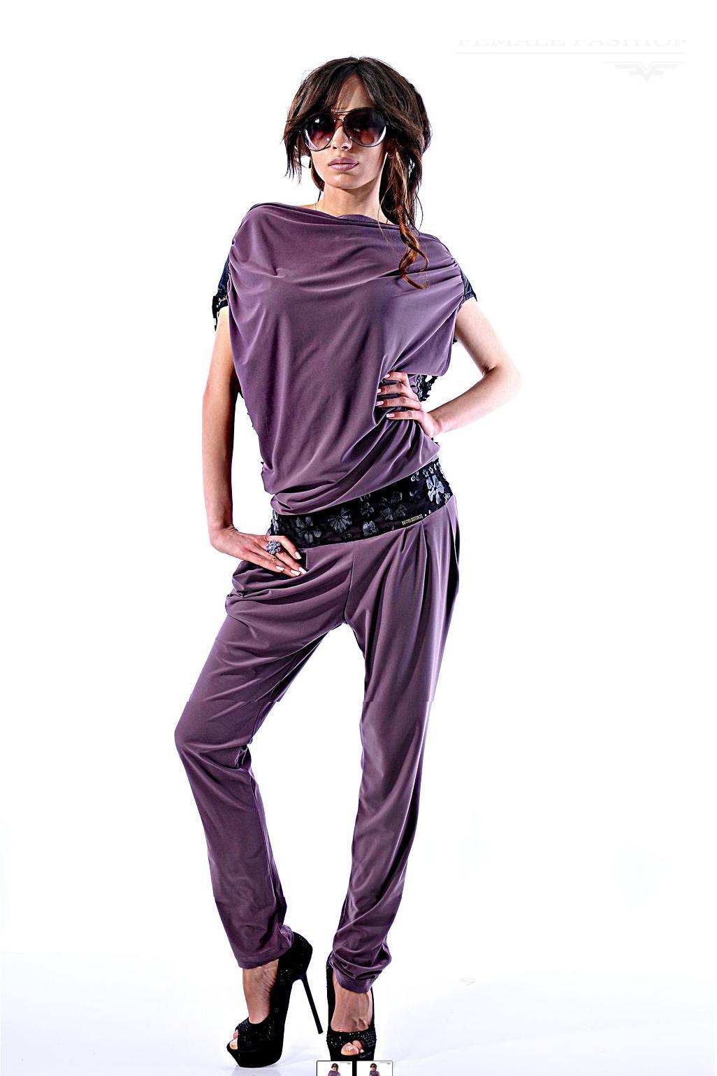 Salopeta Azur Violet