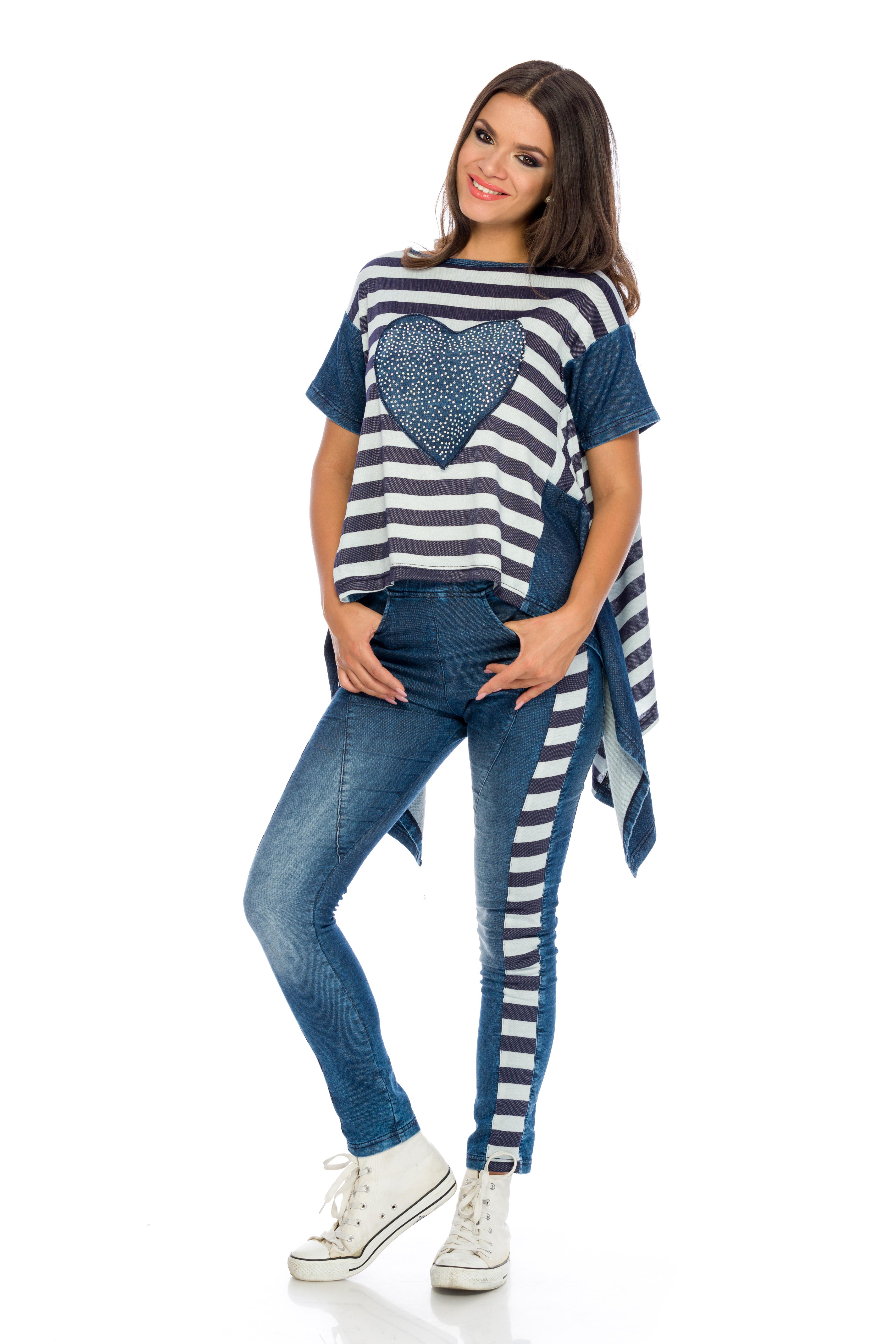 Set Stripes Denim