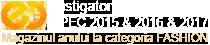 Castigator GPEC 2015 - Magazinul anului la categoria fashion